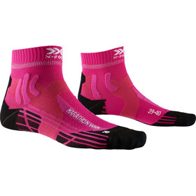 X-Socks Marathon Energy Calcetines Running Mujer, flamingo pink